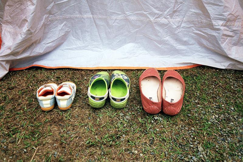 底片,CAMP,南投魚池梢楠園,露營